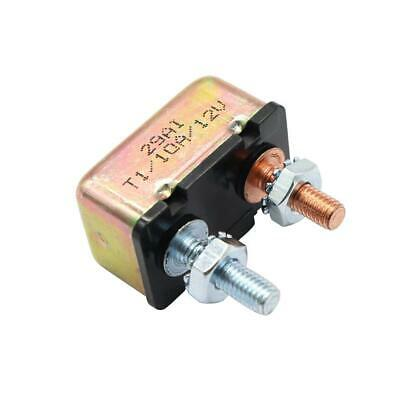 10 AMP 12V/24V Circuit Breaker with Cover Auto Reset Dual Battery 10A Fuse UK