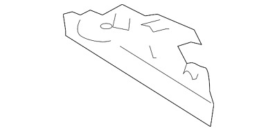 Genuine Toyota Side Support 52115-02061