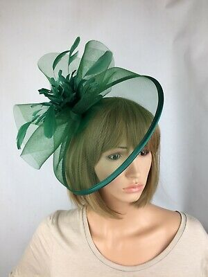 Green Fascinator Wedding Occasion Hatinator Mother Of The Bride Ascot Races