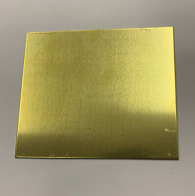 Brass sheet -various sizes various thickness. Models making jewellery making