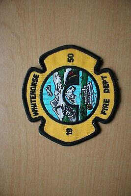 Patch : Whitehorse Fire Dept 90 mm x 90 mm