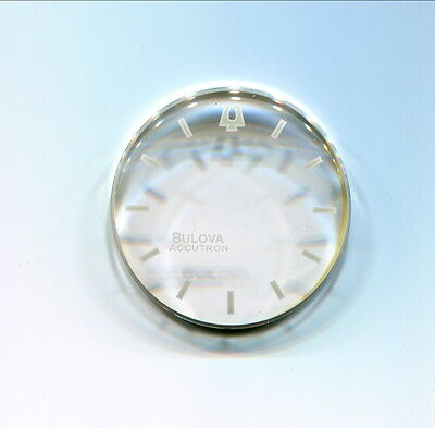 454-2AYS for Bulova Accutron Spaceview Crystal 30.1 mm