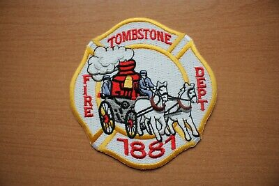 Patch : Tombstone Fire Dept. , 100 mm x 100 mm