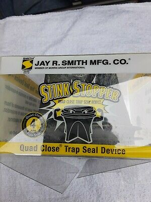 JAY R SMITH MFG Pipe CO 2692-02 Stnk Stppr Qd Cls Trp Seal,For 2In