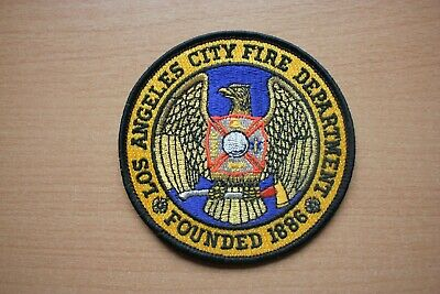 Patch : Los Angeles City Fire Department Founded 1886 , 90 mm