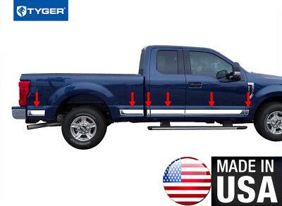 """Silverado EXT Cab 4Dr Short Bed 99-06 Stainless Steel 1.5/"""" Generic BSM 4PC"""