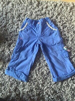 Girls M&S Trousers Age 1-2 Years