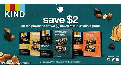 save on KIND chocolate caramel sea salt coupons + Bonus [Canada]