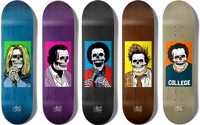 Girl Skateboards x Sean Cliver Skull Of Fame Andy Kaufman White T-Shirt