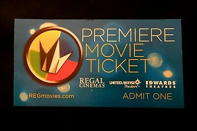 [FASTEST] Regal Premiere Movie Ticket Code  No Expiration   Manual Key Only