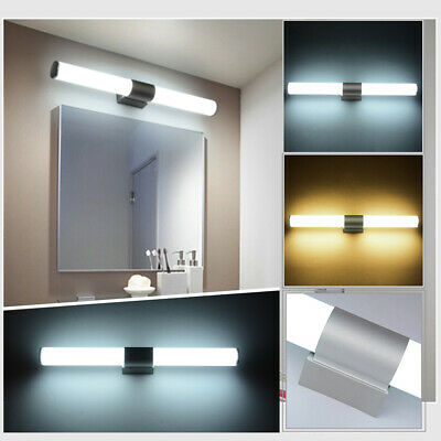 Modern Bathroom Sconce Wall Fixtures Mirror Front Light Vanity Toilet LED Lamp