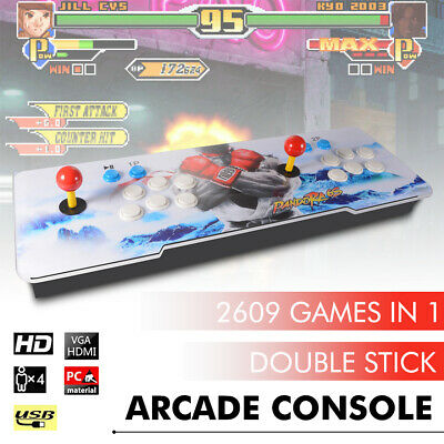 Arcade Box 6S 2060 in 1 Retro Video Games Double Stick Arcade Console XC802US