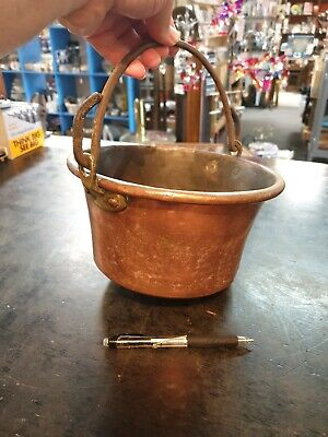 Antique Copper & Brass  Jam Cooking Pot