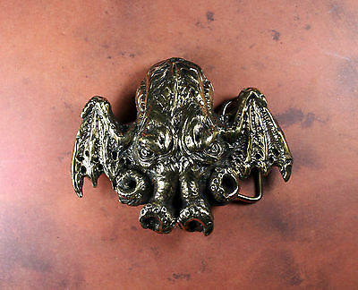 Pewter BEELZEBUB Belt Buckle Demon Dictionnaire Infernal Lord of the Flies