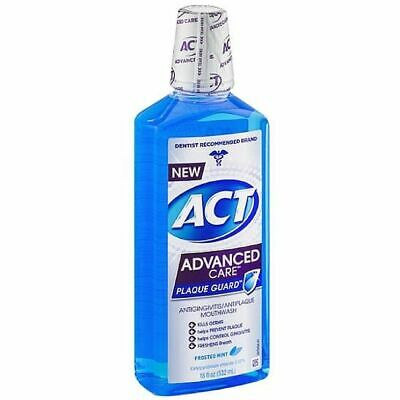 ACT Advanced Care Plaque Guard Frosted Mint - 18 oz (Pack of 7)