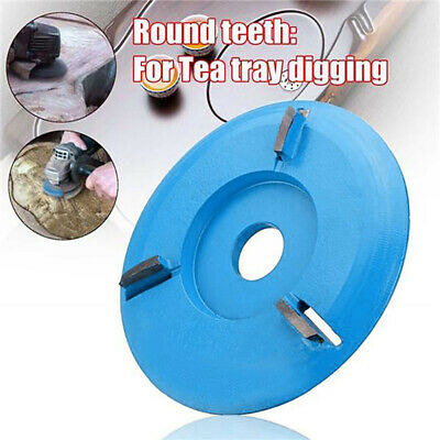 16mm Woodworking Turbo Plane Arc Wood Carving Disc For Aperture Angle Grinder