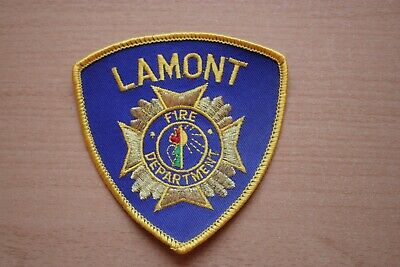 Patch ( Canada ) : Lamont Fire Department 90 mm x 90 mm