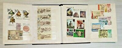 USSR Vintage Postage Stamps Album Lot for Collection with stamps