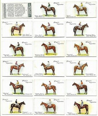 Players - Derby And Grand National Winners - Full Set - 1933
