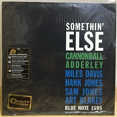 Cannonball Adderly - Somethin' Else / 45RPM 2LP New Analogue Productions