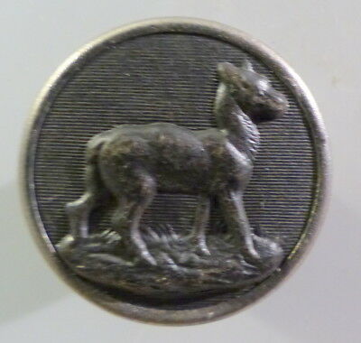 BOUTON  : CHASSE/VÉNERIE.   BICHE   25  mm   N°1110445