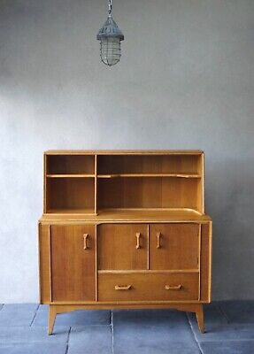 G Plan Sideboard Highboard 1950s Mid Century Removable Top  - Delivery