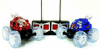 360 Tumbling RC Twister Car With Lights | Remote Controlled | 2 Sizes & 2 Colors