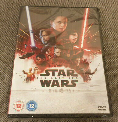 DVD Star Wars The Last Jedi Brand New Sealed