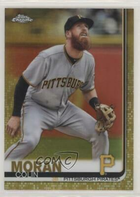 2019 Topps Chrome Gold Refractor/50 #65 Colin Moran Pittsburgh Pirates Card
