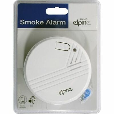 2 x WIRELESS SMOKE ALARM DETECTOR FIRE ALARM IONISATION - BATTERIES INCLUDED 431