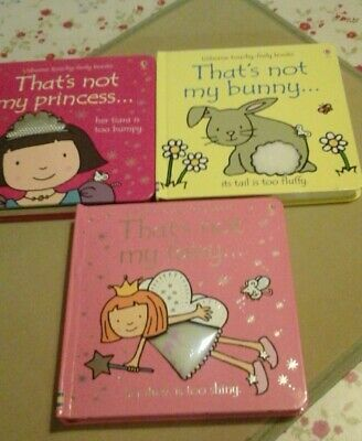 Thats not my books x 3