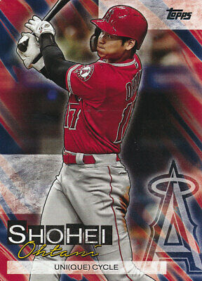 2019 Topps Update Shohei Ohtani Highlights Insert #SO-1 Los Angeles Angels