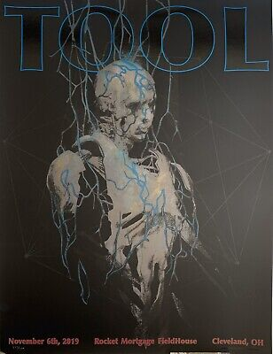 Tool Poster cleveland 2019 concert tour limited edition new
