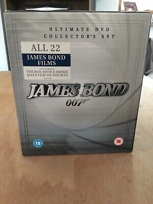 James Bond 22 Movies Up To Quantum Of Solace DVD