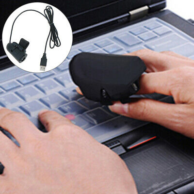 Universal usb wire finger rings optical mouse for all laptop deskto OQF wr