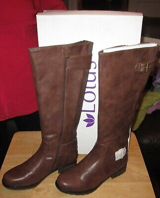Ladies Boots ( Lotus Beal Brown Matt  - Size Uk 4, Eur 37 ) New With Tags!!!