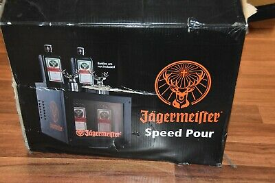 EXCELLENT Jagermeister Speed Pour Bottle Freezer Machine Lights Up Man Cave