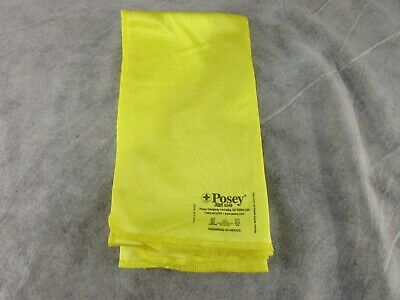 Lot of 4 Posey Yellow Fall Management Blankets (6248)
