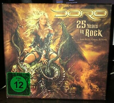 Doro  - 25 years in rock -  2 dvds + 1 cd special edition