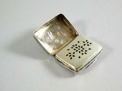 Sterling Silver Vinaigrette, John Bettridge, Birmingham, 1817