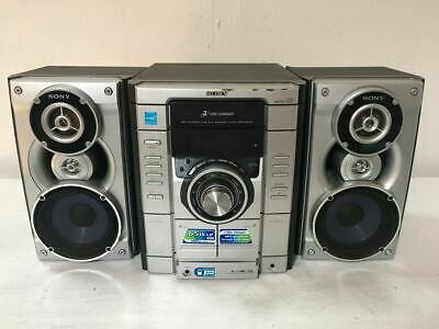 Sony MHC-RG170 Hifi Stereo System - Amp Speakers CD Player, Tape Deck, Radio Aux