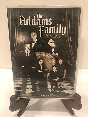 The Addams Family - Volume 1 (DVD, 2009, 3-Disc Set, Dual Side)