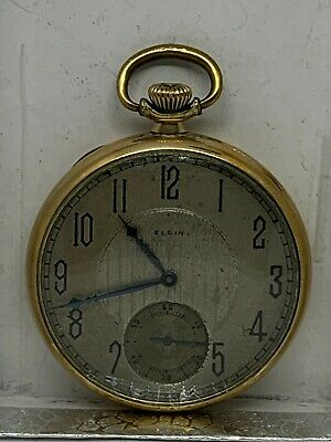 Elgin 12s 7J Grade 303  circa 1923 pocket watch running