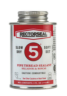 Rectorseal Yellow Pipe Thread Sealant 4 oz