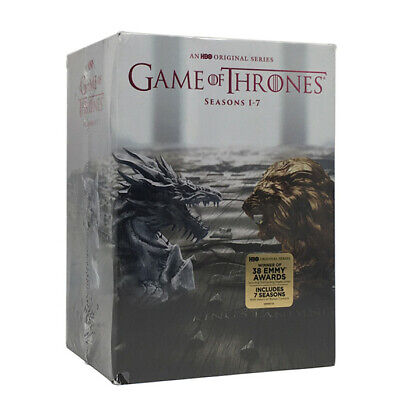 Game of Thrones Season 1-7(34-Disc Set,DVD) Brand new sealed package