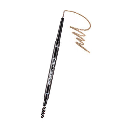 2X(Bsimone Double Ended Eyebrow Pencil Waterproof Long Lasting No Blooming Y9G6