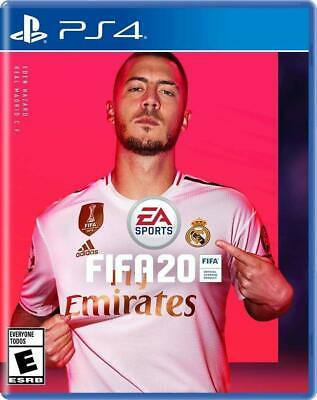 FIFA 20 (Sony PlayStation 4, 2019) PS4, Brand New, Factory Sealed, Free Shipping