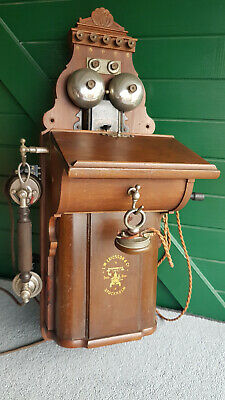 ANTIQUE ERICSSON TELEPHONE, (c1910) LOOKS IN EXCELLENT ORDER. TAKE A LOOK !