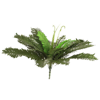 Silk Artificial Green Persian Leaves Grass for Table Centerpiece Decoration