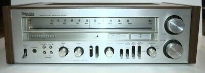 Technics SA-500 FM AM Stereo Receiver Powers On Untested